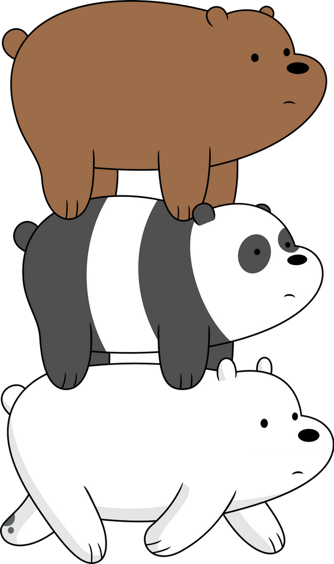 Uncategorized Threebears three bears on a stroll by porygon2z deviantart porygon2z