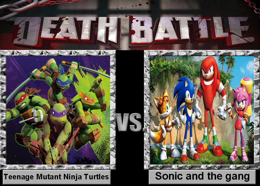Death Battle Tmnt Vs Sonic Gang By Porygon2z On Deviantart
