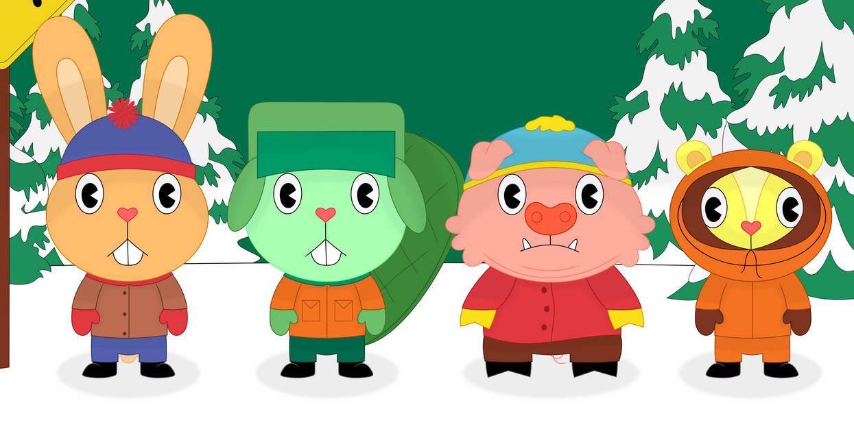 Happy South Park Friends by Porygon2z on DeviantArt