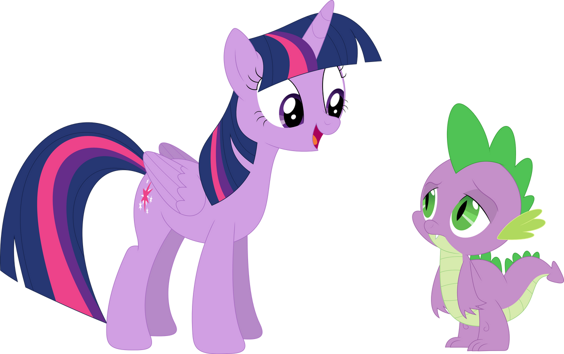 Good Morning Did You Sleep Well In French : Good morning spike did you sleep well by porygon z on