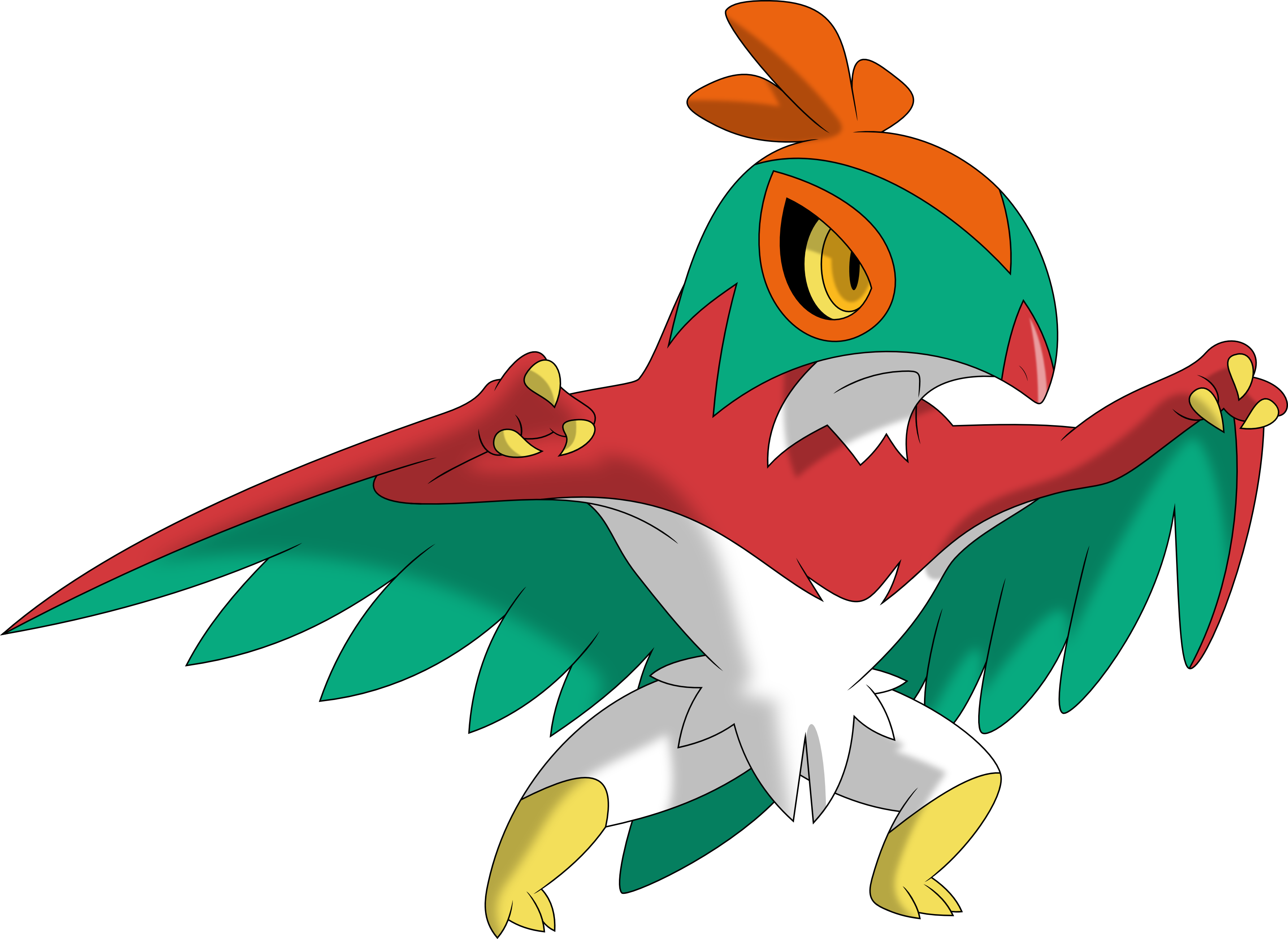 Hawlucha By Porygon2z On DeviantArt