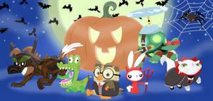 A Pet-tastic Halloween