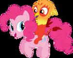 A pony ride for Heatwave by Porygon2z