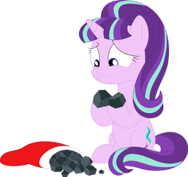 Somepony's been naughty this year by Porygon2z