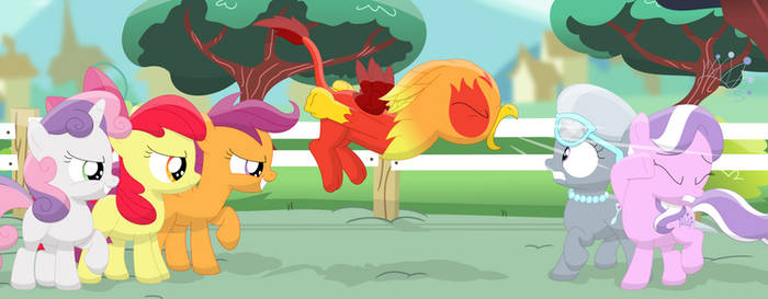 You bully my friends, you get the roar! by Porygon2z