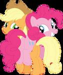 Apple Pie piggyback by Porygon2z
