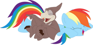 Some Rainbow-Flap laughter