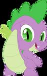 Spike's big butt by Porygon2z