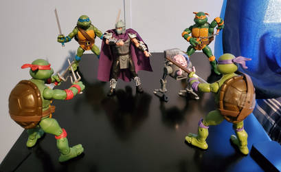 Shredder and Krang, it's time we put you away!