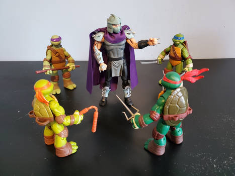 You shorty turtles have the wrong Shredder