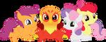 An irresistibly cute quartet by Porygon2z