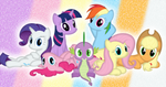 The group of seven we all know and love by Porygon2z