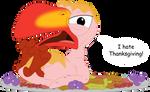 Zazu the turkey by Porygon2z