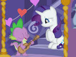 A love song for his beloved beauty by Porygon2z