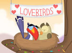The new feathered couple by Porygon2z