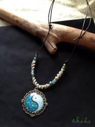 Eggshell pendant (no.6)