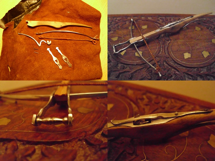 Medieval Heavy Crossbow (Mini) by pulsiondemort on DeviantArt