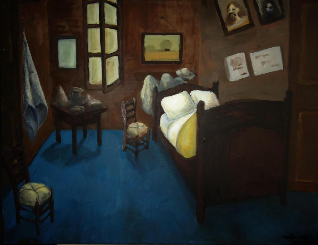 Van Gogh Bedroom in Arles recreation by DeadValkyrie793 on DeviantArt