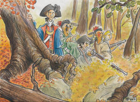 Washington in the Wilderness by Snipetracker