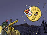 Editorial Art: A Trip to the Moon?