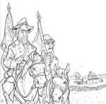 Gettysburg: Gen. George Meade on Cemetery Ridge