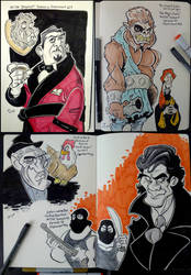 MST3k Villains by Snipetracker