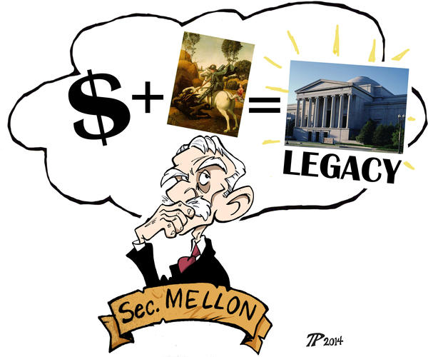 Andrew Mellon's Legacy by Snipetracker