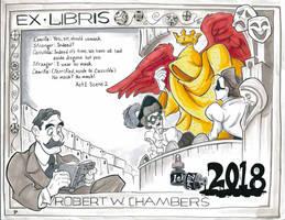 Inktober: Robert W. Chambers