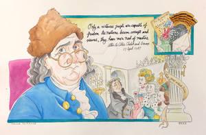 Revolutionary Installment No. 3: Benjamin Franklin