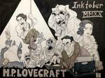 Inktober, 2020: H.P. Lovecraft
