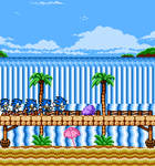 Sonic Advance but NES
