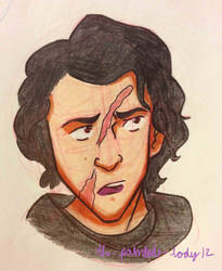 Kylo Ren 3 by the-painted-lady12
