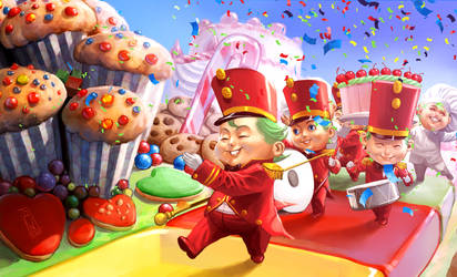 Cookies  Parade by AdmiraWijaya
