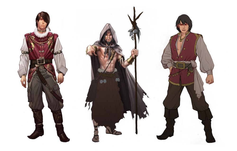 Fantasy Character Design Tips : Character design by admirawijaya on deviantart