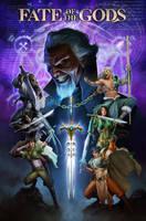 Fate Of the God Novel Cover by AdmiraWijaya