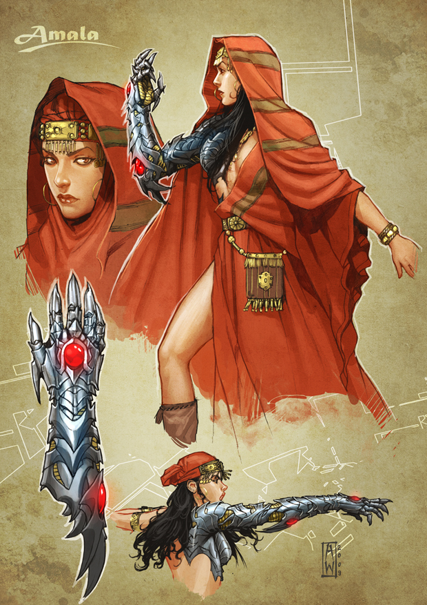Character Design Wichblade by AdmiraWijaya