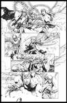 Witchblade Pencil Page 7
