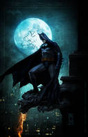 BATMAN SOLITUDE by AdmiraWijaya