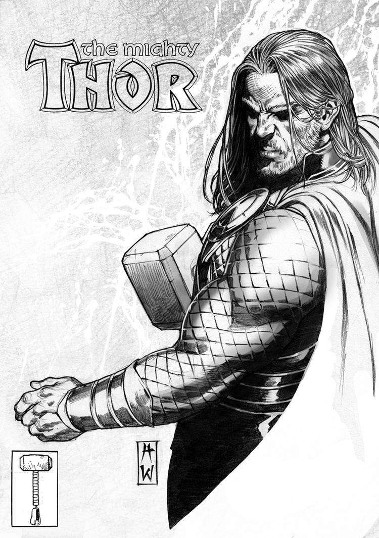 Thor Pencil By AdmiraWijaya On DeviantArt
