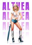 Althea Pin Up