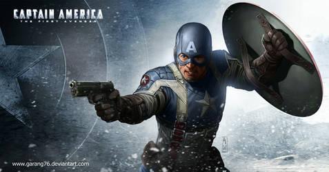 Captain America Tribute by AdmiraWijaya
