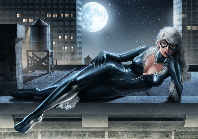 Black Cat by AdmiraWijaya on DeviantArt