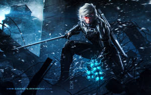 Raiden Metal Gear Revengeance Tribute