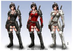 Assault Girl by AdmiraWijaya
