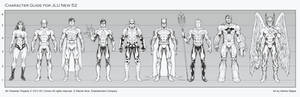 JLU Character Guide new 52