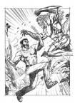 Wolverine VS Sabertooth Pencil