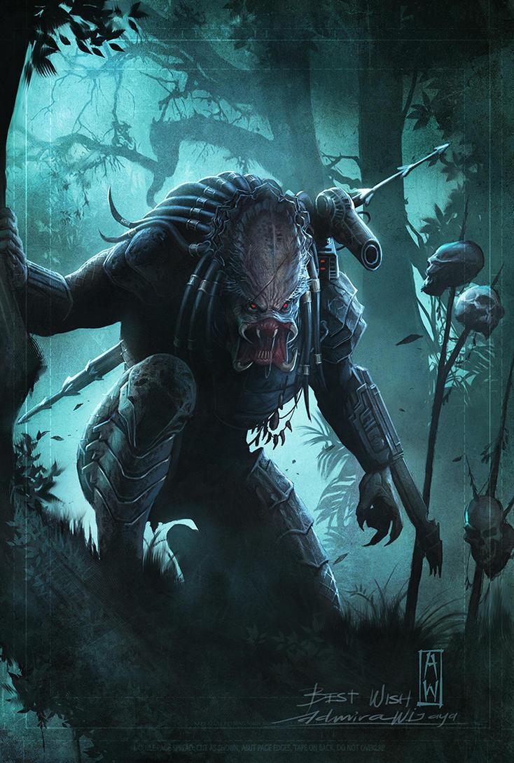 Predator Fan Art by AdmiraWijaya