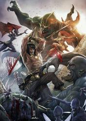 Conan the Conqueror by AdmiraWijaya