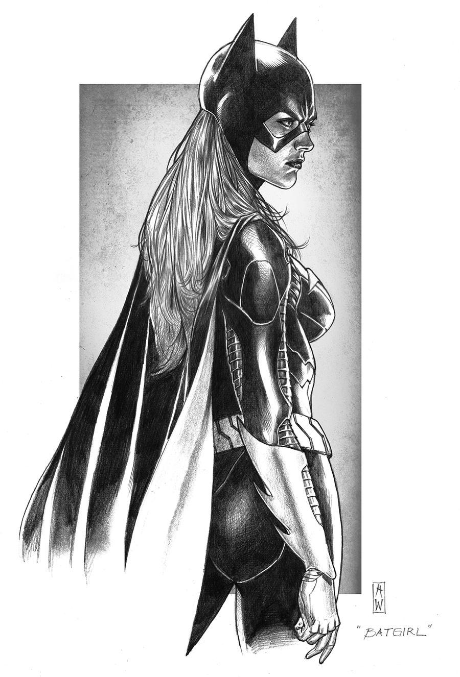 Batgirl Pencil by AdmiraWijaya