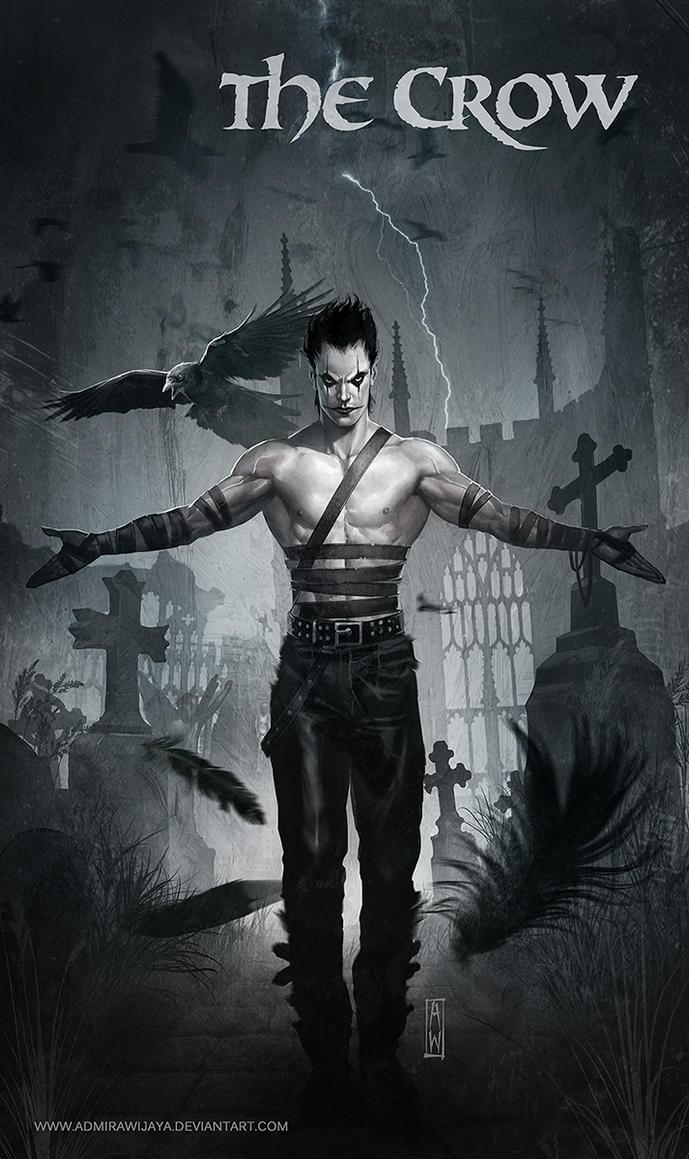 Free Fantasy Book Cover Art : The crow by admirawijaya on deviantart